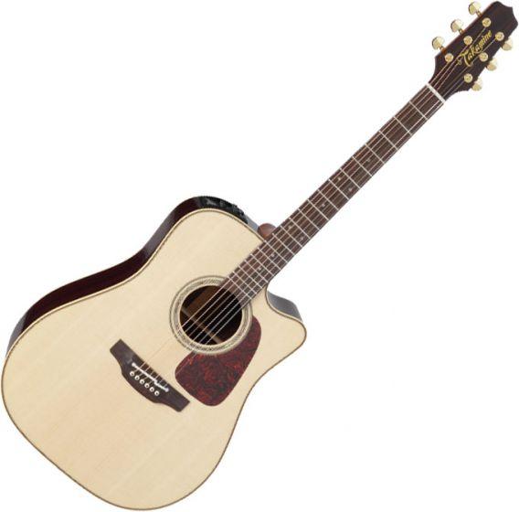 Takamine P5DC Dreadnought Acoustic Electric Guitar Natural Gloss B-Stock, TAKP5DCNAT.B