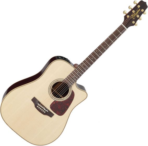 Takamine P5DC Dreadnought Acoustic Electric Guitar Natural Gloss B-Stock, TAKP5DCNAT.B
