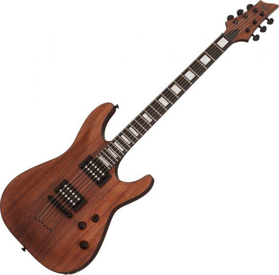 Schecter C-1 Koa Electric Guitar Natural Satin[, SCHECTER3051]