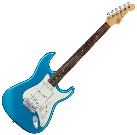 G&L Legacy USA Fullerton Deluxe in Lake Placid Blue, FD-LGCY-LPB-CR