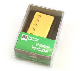 Seymour Duncan TB-6 Trembucker Duncan Distortion Pickup Gold Cover, 11103-21-Gc