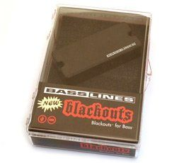 Seymour Duncan ASB-BO-4 Blackouts For Bass Pickup, 11407-08