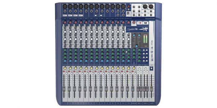 Soundcraft Signature 16 Compact Analog Mixer, 5049559
