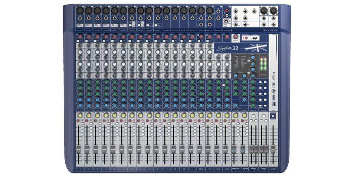 Soundcraft Signature 22 Compact Analog Mixer, 5049562