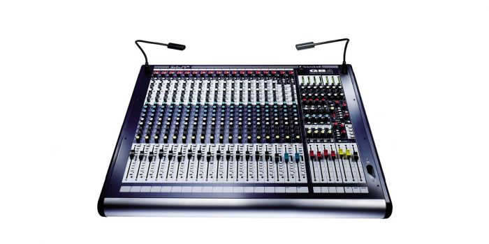Soundcraft GB4 24ch  24+4/4/2 GB Series Console, RW5691SM