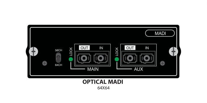 Soundcraft Optical MADI Card - Single Mode, 5019983.v