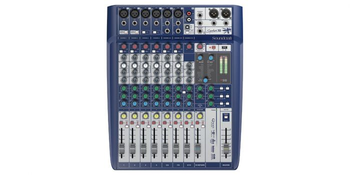 Soundcraft Signature 10 Compact Analog Mixer B-Stock[, 5049551.B]