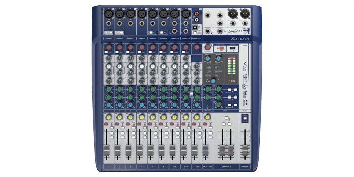 Soundcraft Signature 12 Compact Analog Mixer B-Stock[, 5049555.B]