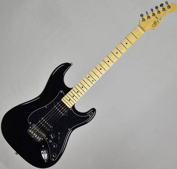 G&L USA Legacy HH Electric Guitar Jet Black, LGCYH2-MP-BK 9612