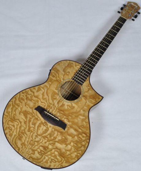 Ibanez AEW40AS-NT AEW Series Acoustic Electric Guitar in Natural High Gloss Finish, AEW40ASNT