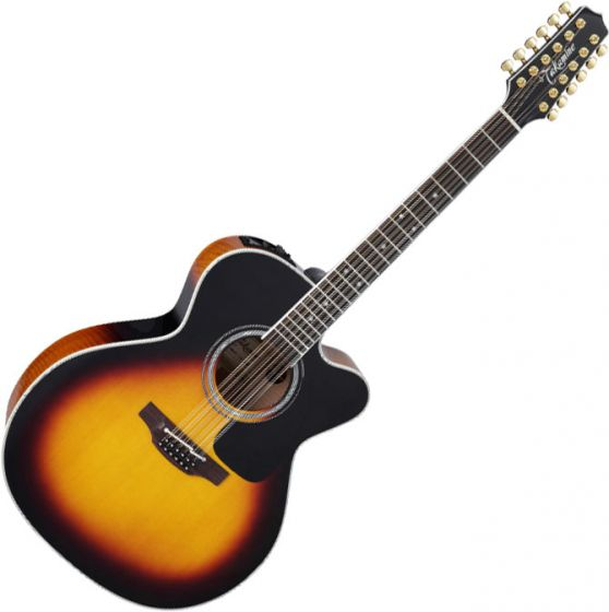 Takamine P6JC-12 Jumbo 12-String Acoustic Electric Guitar Brown Sunburst B-Stock, TAKP6JC12BSB.B