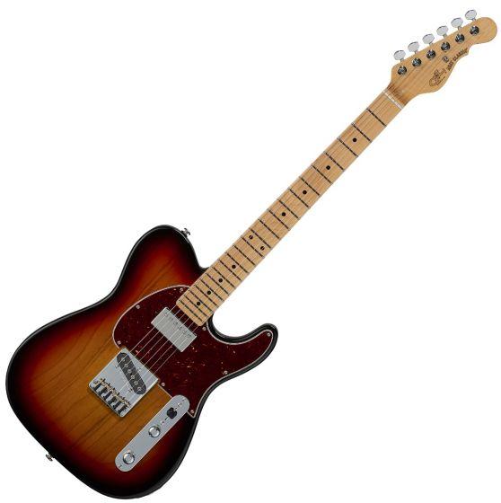 G&L ASAT Classic Bluesboy USA Fullerton Deluxe in 3 Tone Sunburst, FD-ASTCB-3TS-MP