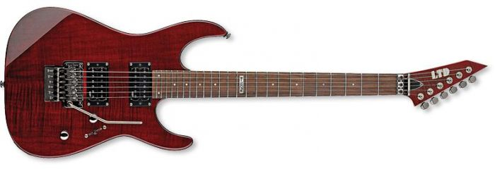ESP LTD M-100FM Guitar in See-Through Black Cherry B-stock, M-100FM STBC