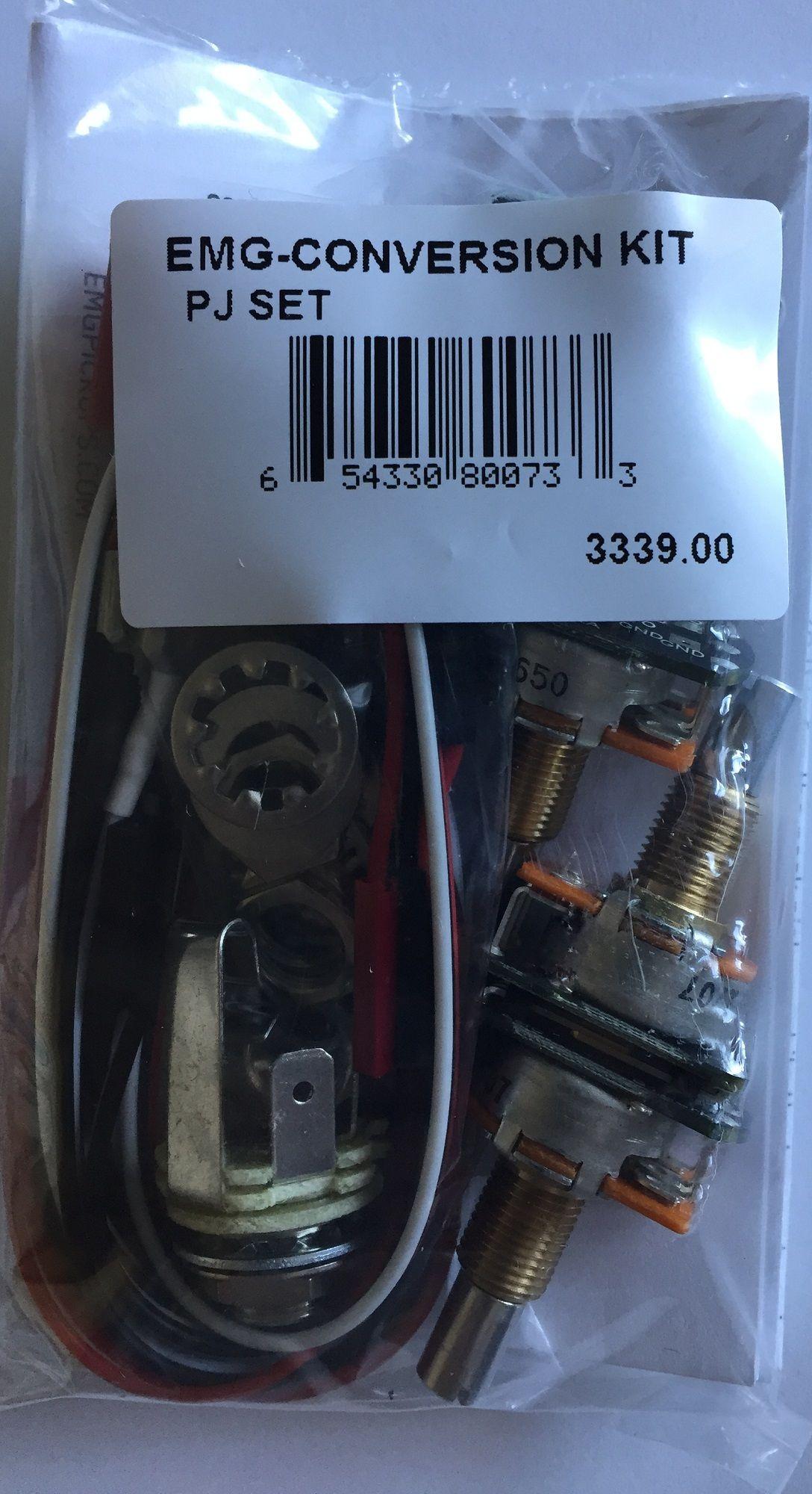 emg pj kit solderless conversion wiring pickup set. Black Bedroom Furniture Sets. Home Design Ideas