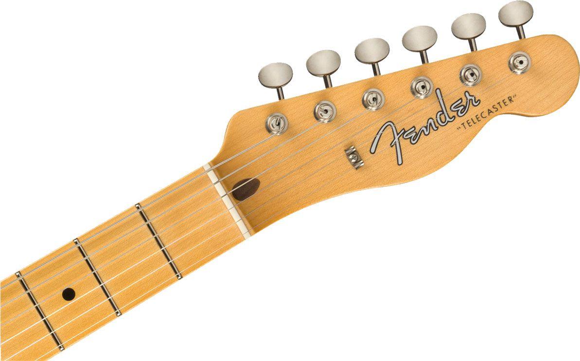 fender custom shop vintage custom 1958 top load telecaster aged white blonde electric guitar. Black Bedroom Furniture Sets. Home Design Ideas