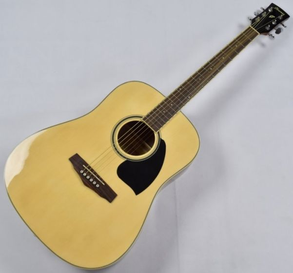 Ibanez PF15-NT PF Series Acoustic Guitar in Natural High Gloss Finish B-Stock SA150102218, PF15NT.B 2218