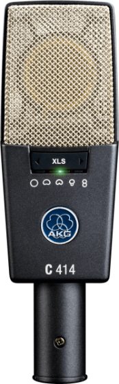AKG C414 XLS Reference Multipattern Condenser Microphone, C414 XLS