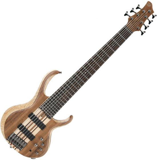 Ibanez BTB Standard 7-String Electric Bass Natural Low Gloss, BTB747NTL