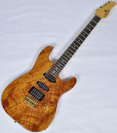 Schecter California Custom Elite Koa Top USA Custom Shop Electric Guitar, USACETKOA