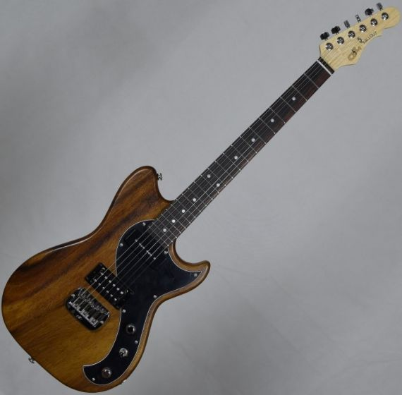 G&L fallout usa custom made monkey pod electric guitar in natural, G&L USA Fallout Natural 8688