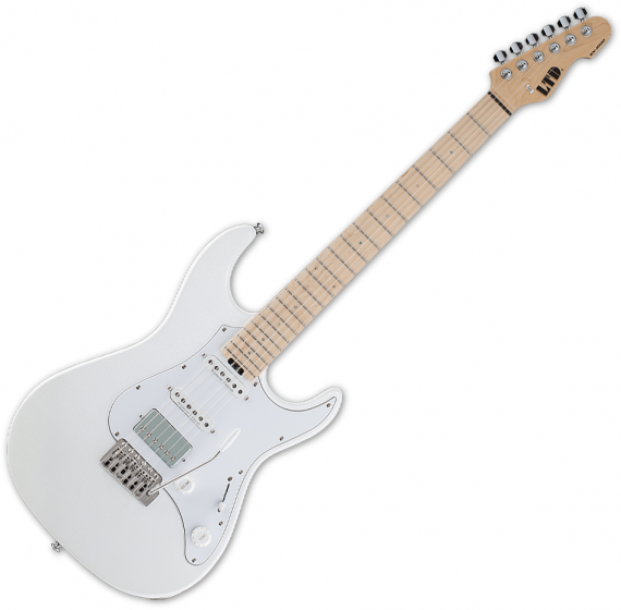 ESP LTD SN-1000W Duncan Electric Guitar Pearl White, LSN1000WMPW