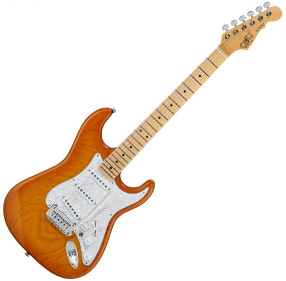 G&L S-500 USA Fullerton Deluxe in Honey Burst[, FD-S500-HNB-MP]