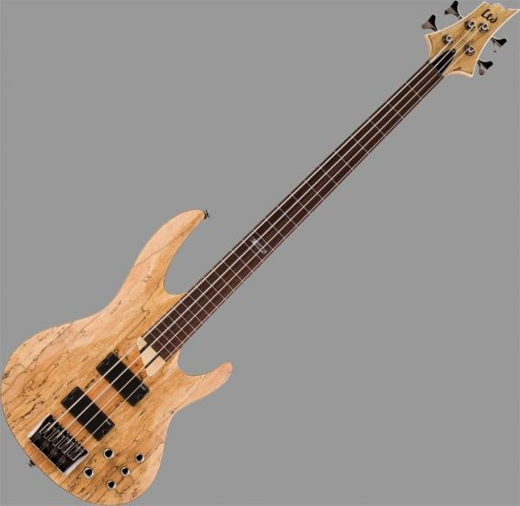 ESP LTD B-204SM Fretless Bass in Natural Stain Finish, B-204SM-FL-NS