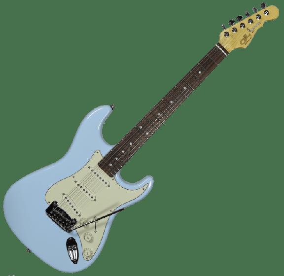 G&L legacy usa custom made guitar in sonic blue, G&L USA Legacy Sonic Blue