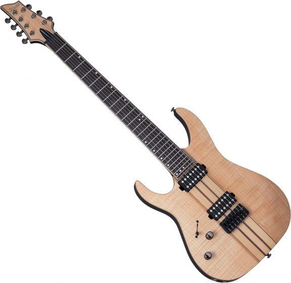 Schecter Banshee Elite-7 Left-Handed Electric Guitar Gloss Natural[, 1257]