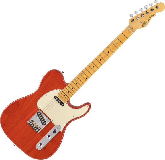 G&L Tribute ASAT Classic Electric Guitar Clear Orange, TI-ACL-121R46M73