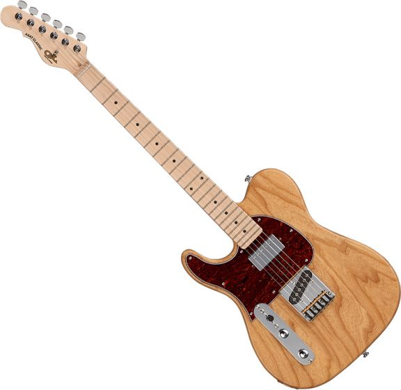 G&L Tribute ASAT Classic Bluesboy Left-Handed Electric Guitar Natural Gloss, TI-ACB-120L20M40