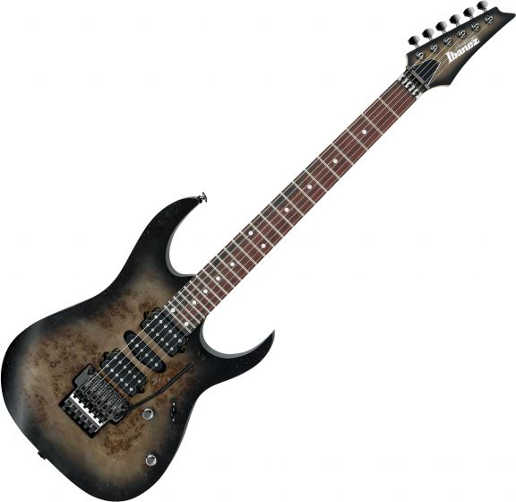 Ibanez RG Prestige RG657PB Electric Guitar Anvil Gray Burst Flat[, RG657PBAGF]