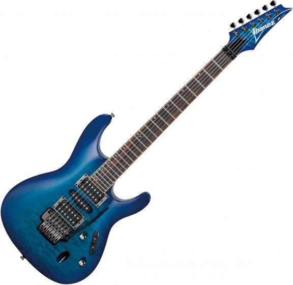 Ibanez S Standard S670QM Electric Guitar Sapphire Blue, S670QMSPB