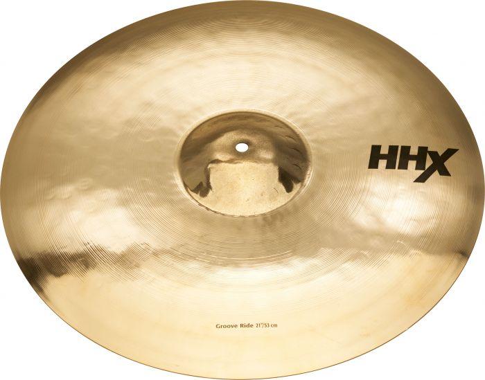 "Sabian 21"" HHX Groove Ride Brilliant Finish, 12189XB"