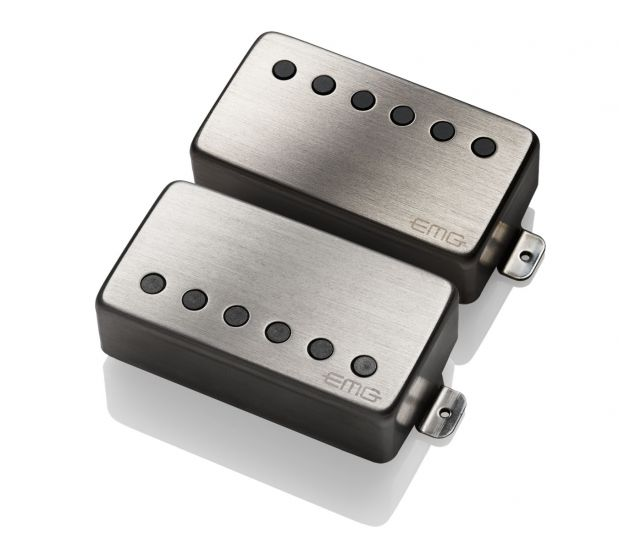 EMG 57/66 Set Pickups Brushed Chrome, 4086.00