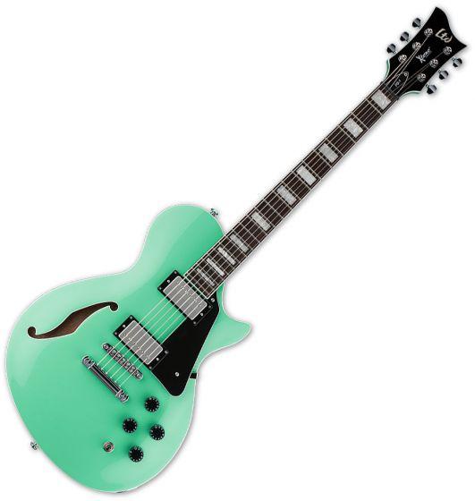 ESP LTD PS-1 Semi-Hollow Electric Guitar Sea Foam Green, XPS1SFG