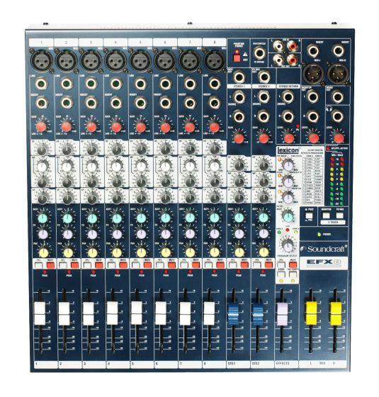 Soundcraft EFX8 Lexicon Effects Mixer, E535.000000US