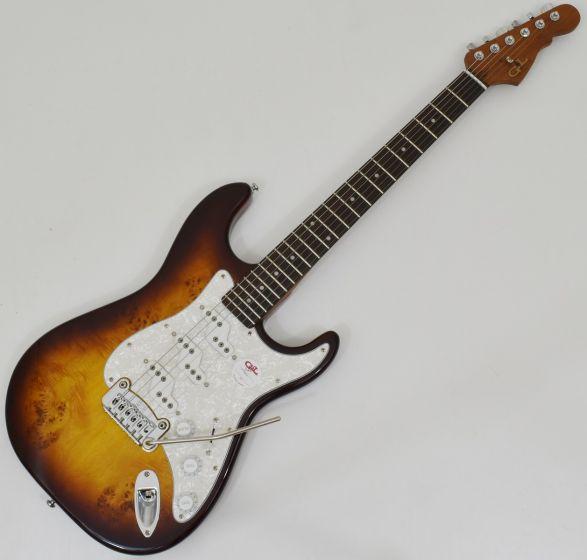 G&L Tribute Comanche Electric Guitar Tobacco Sunburst, Tribute Comanche Tobacco Burst