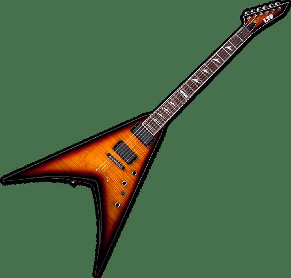 ESP LTD V-401FM Electric Guitar in 3 Tone Sunburst B-Stock, LTD V-401FM 3TSB