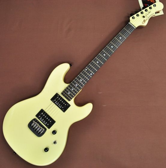 G&L USA Custom Made Jerry Cantrell Superhawk Signature Guitar in Ivory, Superhawk Ivory