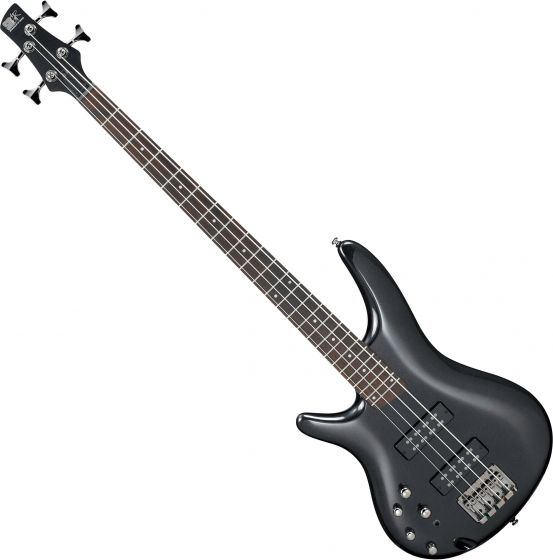 Ibanez SR Standard SR300EL Left-Handed Electric Bass Iron Pewter, SR300ELIPT