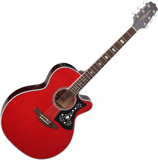 Takamine GN75CE NEX Acoustic Electric Guitar Wine Red[, TAKGN75CEWR]