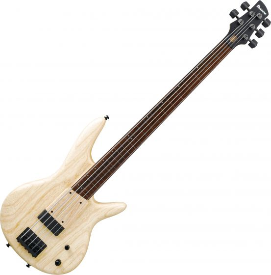 Ibanez Gary Willis Signature GWB1005 5 String Electric Bass Natural Flat, GWB1005NTF
