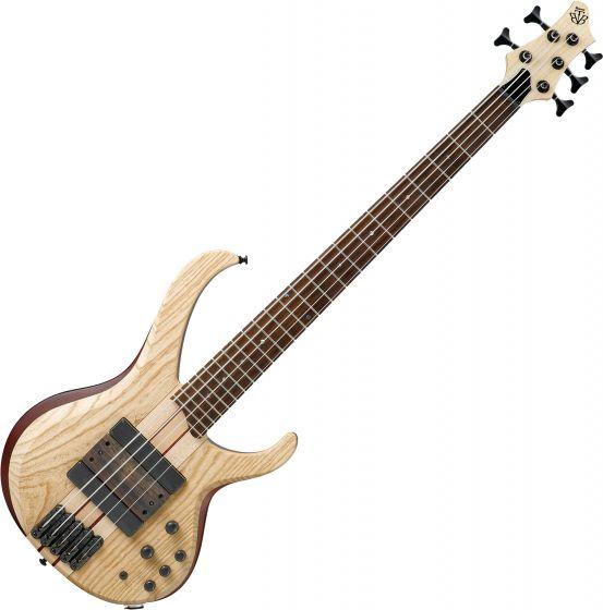 Ibanez Bass Workshop BTB33 5 String Electric Bass Natural Flat, BTB33NTF