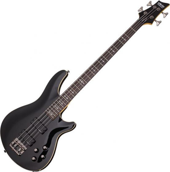 Schecter Omen-4 Electric Bass in Gloss Black Finish, 2090