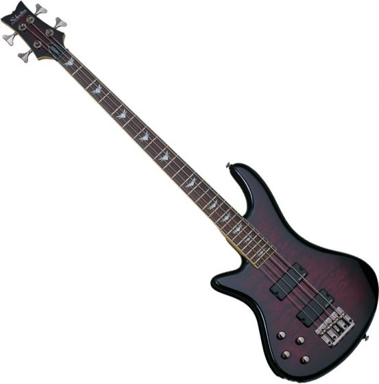 Schecter Stiletto Extreme-4 Left-Handed Electric Bass Black Cherry[, 2507]