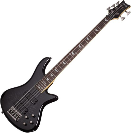 Schecter Stiletto Extreme-5 Electric Bass See-Thru Black[, 2504]