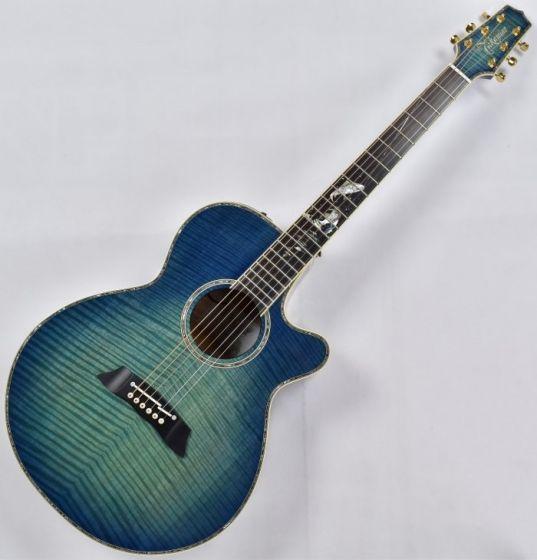 Takamine LTD 2016 Decoy Acoustic Guitar in Green Blue Burst Finish, LTD 2016 Decoy