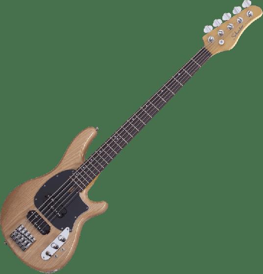 Schecter CV-5 Electric Bass Gloss Natural, 2493
