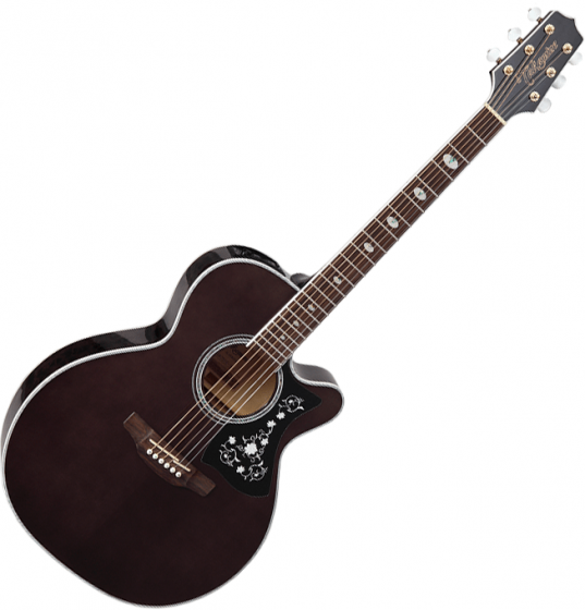 Takamine GN75CE NEX Acoustic Electric Guitar Transparent Black, TAKGN75CETBK